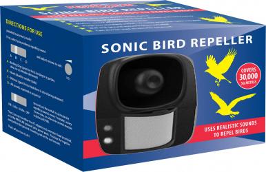 Aparat Electronic Sonic Programabil - Impotriva Pasarilor - BIRD PROGRAM SONIC Articole antidaunatori gradina