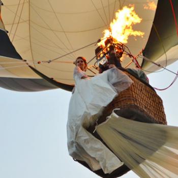 Zbor romantic cu balonul in Cluj - Cerere in Casatorie
