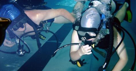 Initiere in scubadiving in Timisoara Experiente cadou