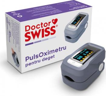 Pulsoximetru / Oximetru and ndash Dispozitiv Medical de Masurat Saturatie Oxigen si Puls pentru Deget
