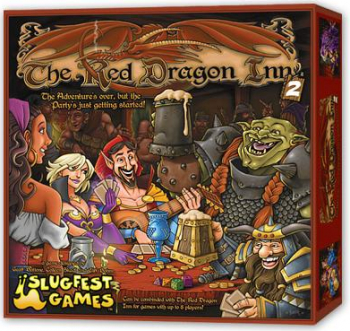 Red Dragon Inn 2 Red Dragon Exp Stand Alone Boxed Card Game N A
