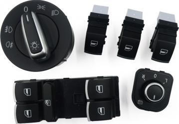 Set butoane de comanda faruri oglinzi geamuri compatibile VW
