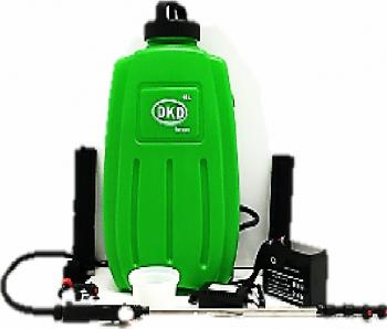 Vermorel cu acumulator DKD KF-16C-10 12 V rezervor 16 litri presiune maxima 4.5 bar Atomizoare si pompe de stropit
