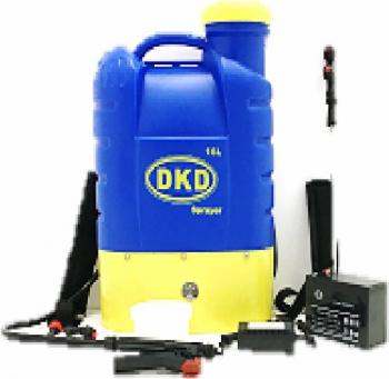 Vermorel cu acumulator DKD KF-16C-16 12 V rezervor 16 litri presiune maxima 4.5 bar Atomizoare si pompe de stropit