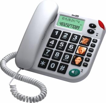 Telefon fix cu fir MaxCom KXT480 Alb Telefoane