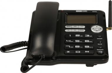 Telefon fix MaxCom Comfort MM29D 3G Black cu SIM Telefoane