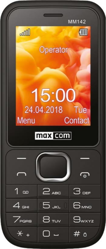 Telefon mobil Dual SIM MaxCom Classic MM142 Black Telefoane Mobile