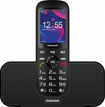 Telefon mobil Dual SIM MaxCom Comfort MM740 Black Telefoane Mobile