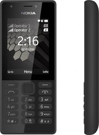 Telefon mobil Dual SIM Nokia 216 Black Telefoane Mobile