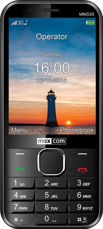 Telefon mobil MaxCom Classic MM330 Black Telefoane Mobile