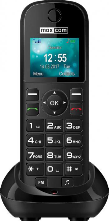 Telefon mobil MaxCom Comfort MM35D Black Telefoane Mobile