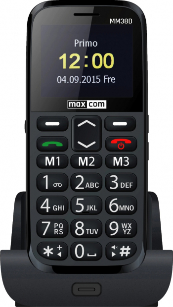 Telefon mobil MaxCom Comfort MM38D Black Telefoane Mobile