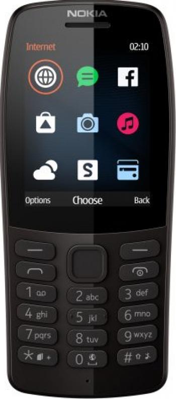 Telefon mobil Nokia 210 Dual SIM 2019 Black. Telefoane Mobile