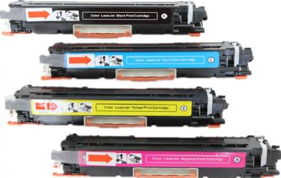 Set 4 Cartus iMAGO pRINT Compatibil cu BK/C/M/Y HP 130A HP Color LaserJet Pro MFP M170 Series / Color LaserJet Pro MFP M176 n / Color