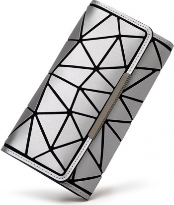 Portofel N-M LuxFashion Argintiu