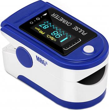 Pulsoximetru MRG M-AD805 Display digital Pentru deget Alb / Albastru