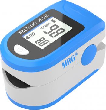 Pulsoximetru MRG M-X1906 Display LCD Pentru deget Alb / Albastru