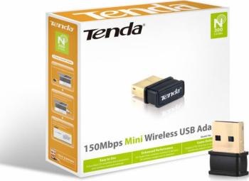Wireless USB Adaptor TENDA W311MI IEEE 802.11b/g/n USB 2.0 2dBi fixedantenna 1 internal PCB Frequency 2.4GHz Up to 150Mbps over 11n