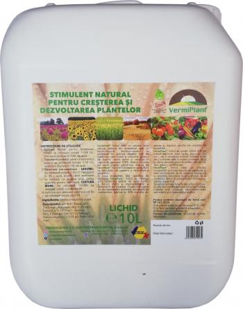 Ingrasamant natural pentru cresterea si dezvoltarea plantelor VermiPlant Lichid Universal 10 L Pamant flori si ingrasaminte