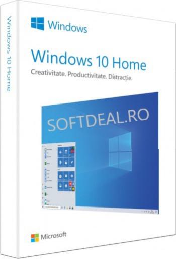 Windows 10 Home Retail 2021 Licenta permanenta 3264 bit All Languages Sisteme de operare