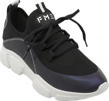 Pantofi sport dama FMZ negri din material textil-39 EU