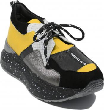 Pantofi sport dama ILI multicolori din piele naturala-40 EU