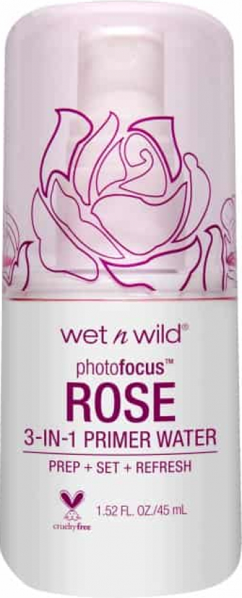 3 in 1 Primer-Fixator-Revigorant Wet n Wild Photo Focus Primer Water Rose Addiction 45ml