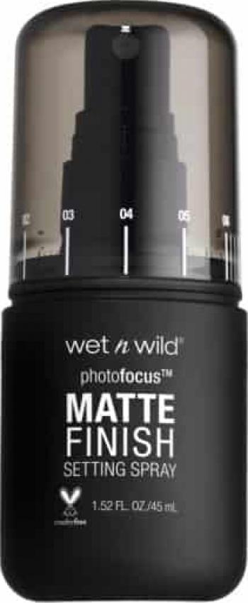Spray de fixare a machiajului cu finish mat Wet n Wild Photo Focus Matte Finish Matte Appeal 45ml
