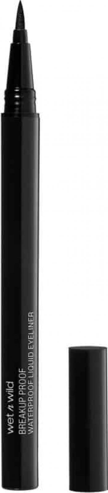 Tus de ochi tip creion Wet n Wild Breakup Proof Waterproof Liquid Eyeliner Ultra Black 0.9ml