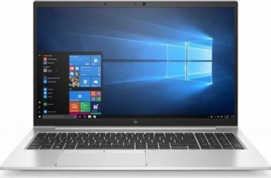 Laptop HP EliteBook 850 G8 Intel Core (11th Gen) i5-1135G7 256GB SSD 8GB Iris Xe FullHD Win10 Pro FPR Tast. ilum. LTE Silver