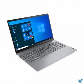 Laptop Lenovo ThinkBook 15 G2 ITL Intel Core (11th Gen) i5-1135G7 512GB SSD 8GB Iris Xe FullHD Win10 Pro FPR Tast. ilum. Mineral Grey