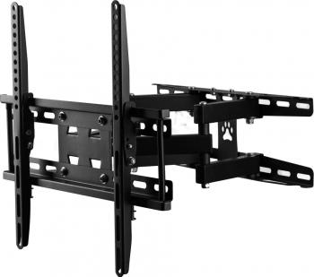 Suport TV Hausberg HB-05 Diagonala 20-55 inch Greutate 50 de kg Negru
