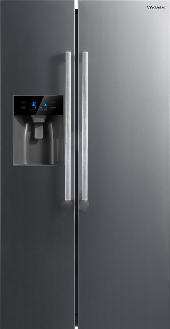 Frigider Side by Side Vortex VS52NSS01M 520 L Clasa E Inverter Dispenser apa NoFrost Inox Frigidere Side By Side
