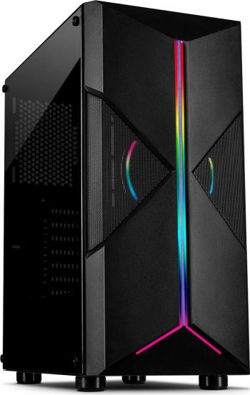 PC Gaming Diaxxa Light AMD Ryzen 5 1600 1TB HDD+SSD 120GB 8GB DDR4 GeForce GT 730 4GB GDDR3 128bit