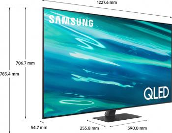 Televizor QLED 138 cm Samsung 55Q80A 4K Ultra HD Smart TV