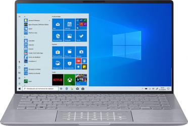 Ultrabook ASUS ZenBook 14 UM433IQ AMD Ryzen 5 4500U 512GB SSD 8GB MX350 2GB FullHD Win10 Tast. ilum. Light Grey