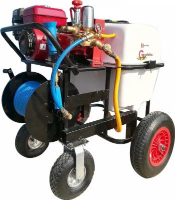 Atomizor cu motor termic Gardelina BSR 100 6.5 CP 3600 rpm 100 litri Atomizoare si pompe de stropit