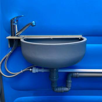 Lavoar cu baterie pentru toaleta ecologica ICTEA19G Toalete ecologice