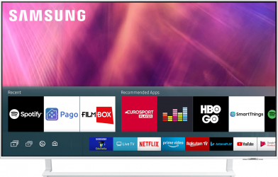 Televizor LED 108 cm Samsung 43AU9082 4K Ultra HD Smart TV Alb Televizoare