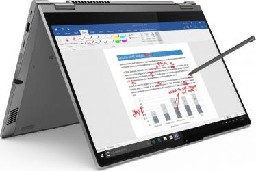 Ultrabook 2in1 Lenovo ThinkBook 14s Yoga ITL Intel Core (11th Gen) i5-1135G7 512GB SSD 16GB FullHD Win10 ProTas Mineral Grey RESIGILAT