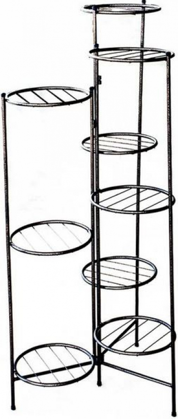 Suport flexibil pentru 9 ghivece inaltime 120cm