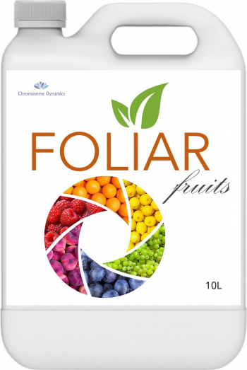 FOLIAR FRUITS 10L - Biostimulator cu continut de microorganisme benefice si carbon organic pur Pamant flori si ingrasaminte