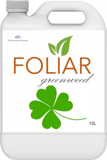 FOLIAR GREENWEED 10L - Biostimulator cu continut de microorganisme benefice si carbon organic pur pentru culturile verzi Pamant flori si ingrasaminte