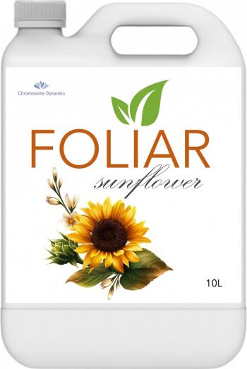 FOLIAR SUNFLOWER 10L - Biostimulator cu continut de microorganisme benefice si carbon organic pur pentru cultura de floarea soarelui Pamant flori si ingrasaminte