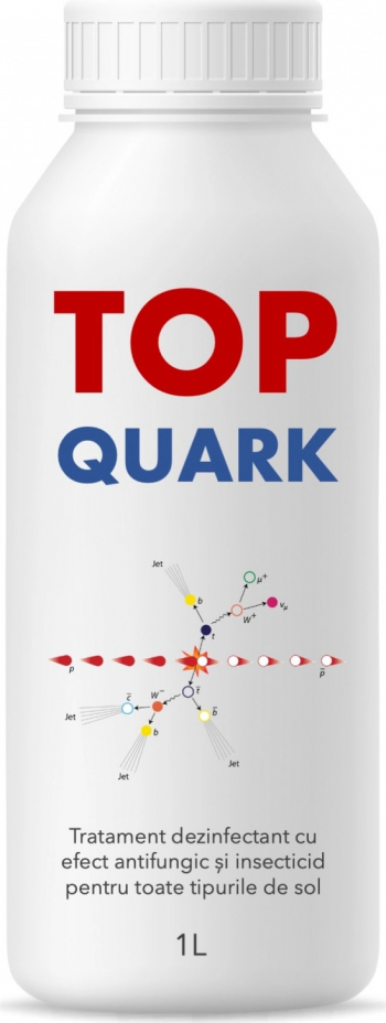 TOP QUARK 1L - Tratament dezinfectant solarii si gradini cu efect antifungic si insecticid Pamant flori si ingrasaminte