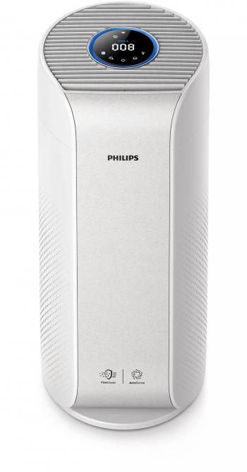 Purificator si de aer 2in1 Philips Seria 3000i AC3055/50 520 m3/h 62 m2 CleanHome+ NanoProtect HEPA Alb Aparate filtrare aer