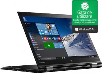 Laptop Lenovo X1 Yoga Intel Core i5-6300U 2.40GHz up to 3.00GHz 8Gb RAM DDR4 512GB SSD 14 inch TouchScreen Webcam Win10 Pro Refurbished