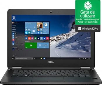 Laptop Dell Latitude E7270 i5-6300U 2.40GHz 8GB DDR4 256GB SSD Webcam 12.5 Windows 10 Professional Refurbished