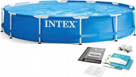 Piscina cadru metalic INTEX 28210 rotunda 366 x 76 cm 6503 litri