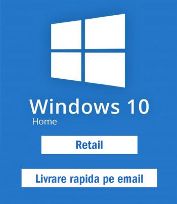 Licenta Windows 10 Home Retail Permanenta Sisteme de operare
